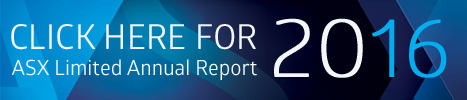 Click here to view the 2016 interactive ASX Annual Report