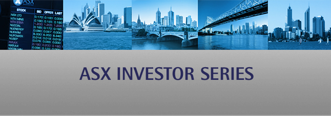 Bringing companies and investors together. Register now