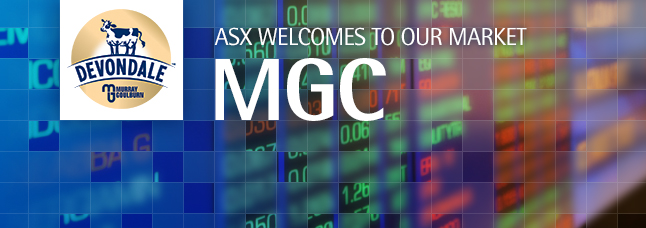 ASX welcomes MG Unit Trust