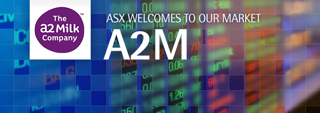 ASX welcomes The a2 Milk Company Limited