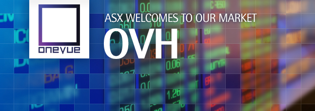 ASX welcomes OneVue Holdings Limited