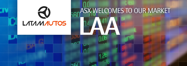 ASX welcomes LatAm Autos Limited