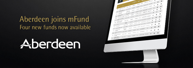 Read more about Aberdeen's new mFunds