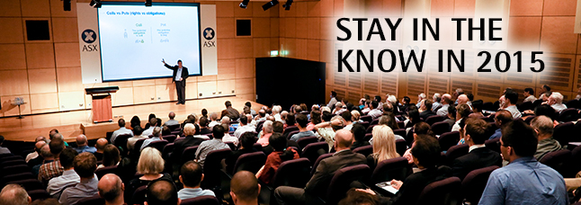 Be the first to receive invitations to our investor seminars. Register now