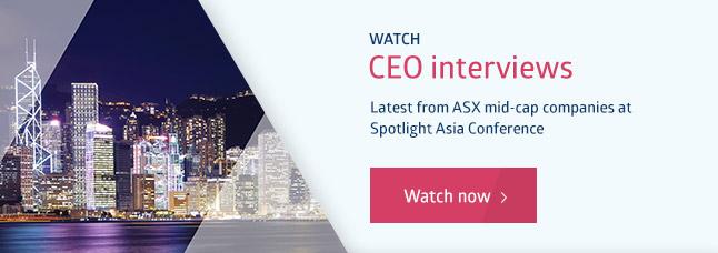 Spotlight videos - CEO interviews