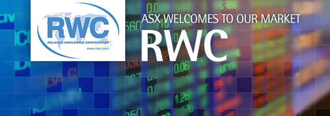 ASX welcomes Reliance Worldwide Corporation Limited