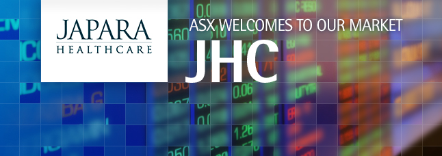 ASX welcomes Japara Healthcare Limited