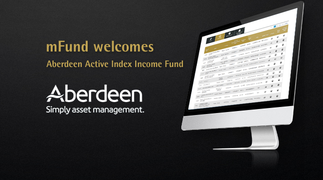 A new monthly income fund
