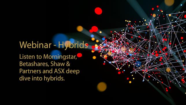 Recorded webinar - Hybrids